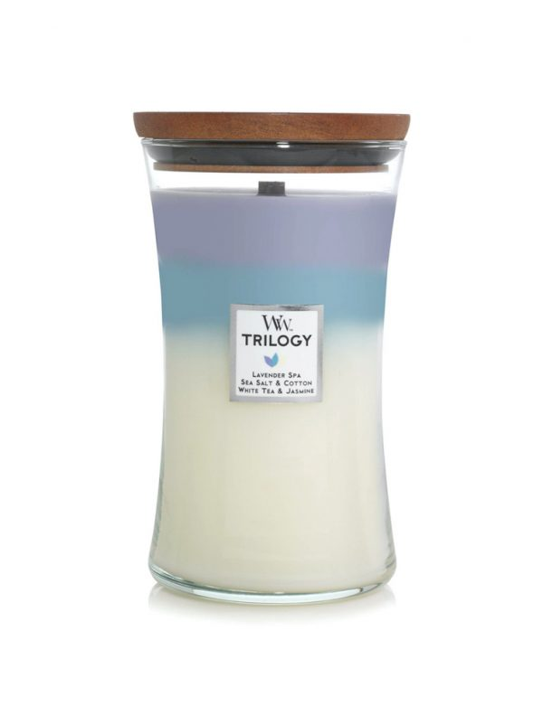 Woodwick Calming Retreat Trilogy Soy Candle WW93965