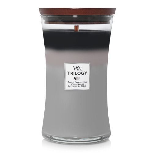 Woodwick Mountain Air Trilogy Soy Candle WW1668450