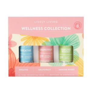 Lively Living Wellness Collection Trio Essential Blend