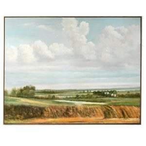 Oil Painting of Landscape A Moment In Time